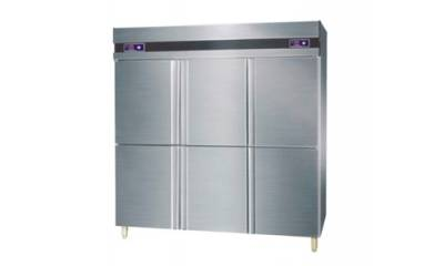 Six-door freezer